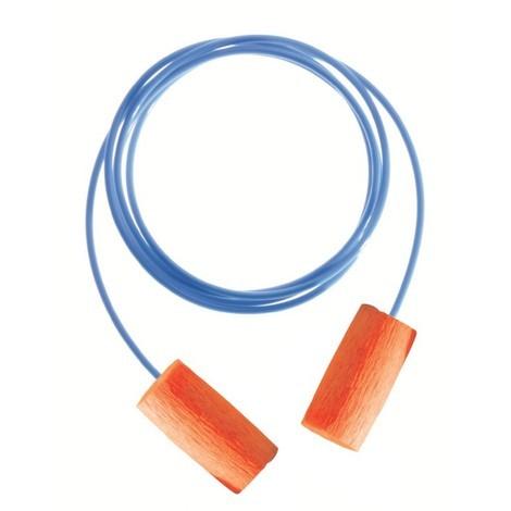 Protectores Auditivos/Orejeras Caja 100 pares Matrix Naranja C/cordón