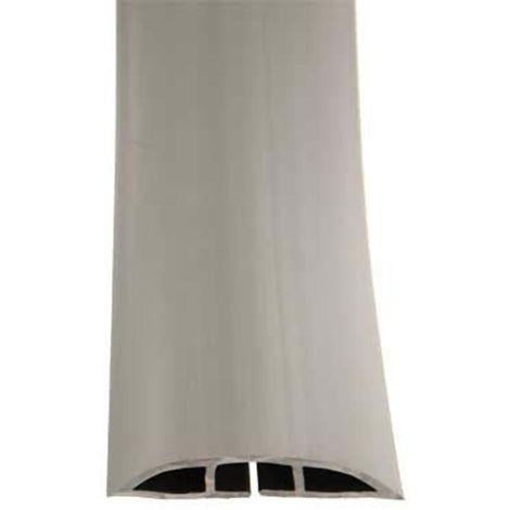 Protège câble RS PRO, diamètre interne: 14.8mm, longueur: 1m, largeur: 50,8 mm Gris