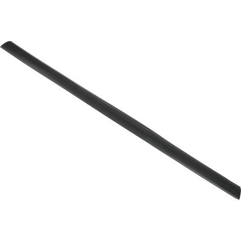 Protège câble RS PRO, diamètre interne: 19 x 10.9mm, longueur: 1m, largeur: 66 mm Noir