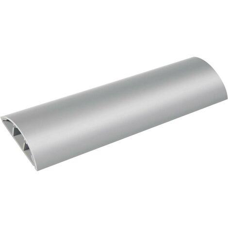 Protège-câbles coloris gris longueur 100 cm pour Ø câble Brennenstuhl 1160550