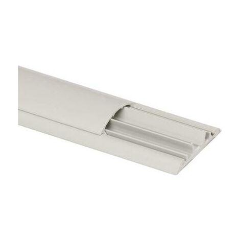 Protège-câbles de sol Heidemann 09803 (L x l x h) 2000 x 50 x 12 mm 1 pc(s) gris