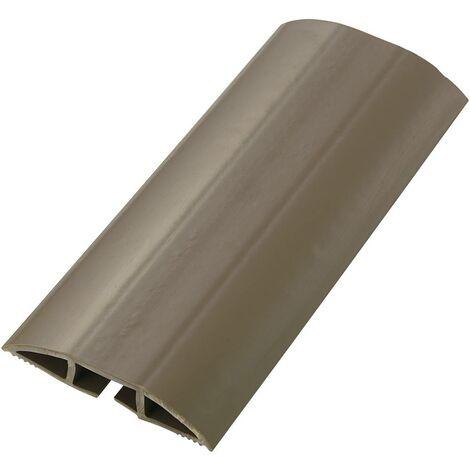 Protège-câbles PVC marron TRU COMPONENTS TC-SRD75BN203 1592929 Nombre de canaux: 1 Longueur 1830 mm 1 pc(s)