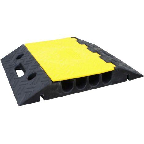 Protège-câbles VISO CP402 noir, jaune Nombre de canaux: 4 500 mm 1 pc(s)