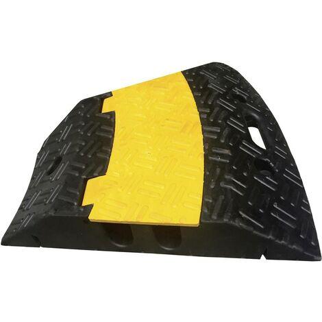 Protège-câbles VISO CPR202 noir, jaune Nombre de canaux: 2 500 mm 1 pc(s)