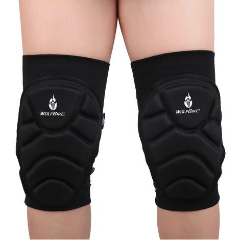 Protege-Genoux Elastiques Respirants, 2 Pieces, M
