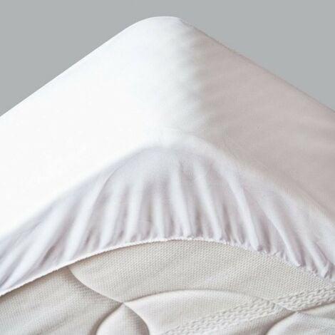"""main image of """"Protège Matelas 140x190 Imperméable - Hygiénique - pour Matelas de 13 à 35 cm de Hauteur - Absorbant et Respirant - Barriére anti-Acariens"""""""