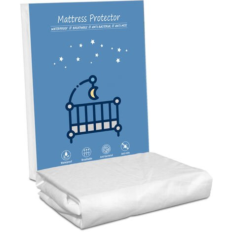 Protege matelas 70x140x25 cm , impermeable, resistant et respirant. Facile a laver Ajustable