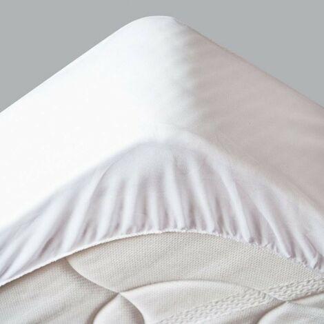 Protège Matelas Imperméable - Hygiènique -  pour Matelas de 13 à 35 cm de Hauteur  - Absorbant et Respirant - Barrière anti-Acariens