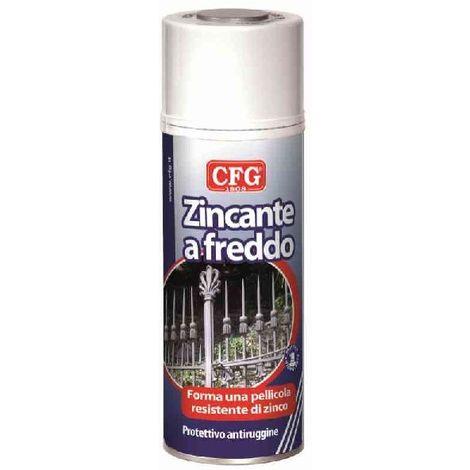 Protettivo antiruggine zincante a freddo 400ml CFG