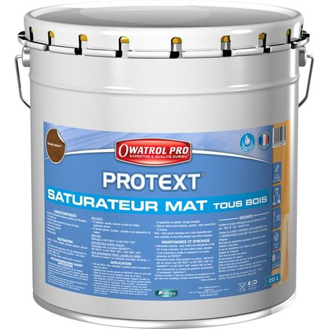 PROTEXT Teck saturateur 20L + 1 Pinceau