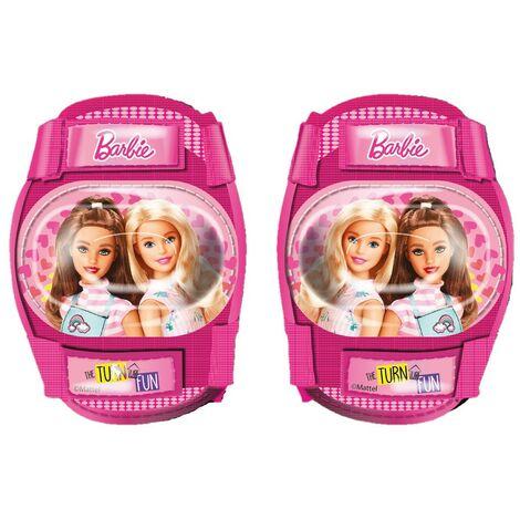 Protezioni Barbie Ginocchiere Gomitiere Bambina Bicicletta Pattini Monopattino