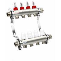 ProWarm 4 Port Manifold C/W Flow Meter