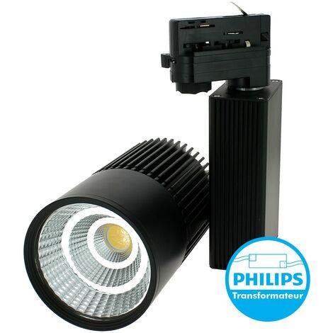 Proyector 30W para riel universal 4 cables Equi 280W 3000Lm