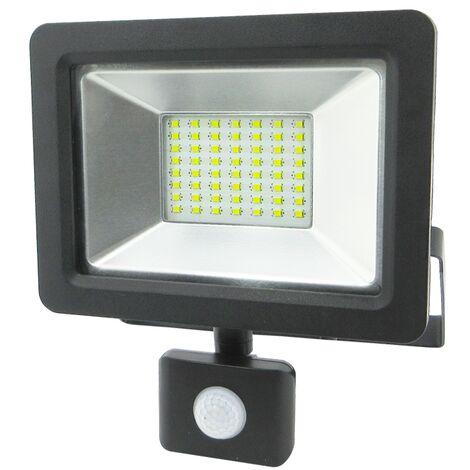 b972643e83293 Proyector Con Sensor Crepuscular y de Presencia 30W 3000Lm IP65 Matel
