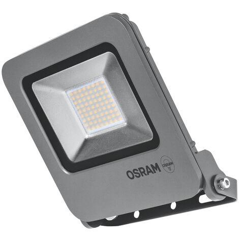 Proyector exterior Led con sensor de movimiento blanco 50W 3000°K IP65 (Osram 4058075064447)