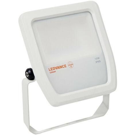Proyector exterior Led Floodlight blanco 10W 4000°K IP65 (Ledvance 4058075810952)