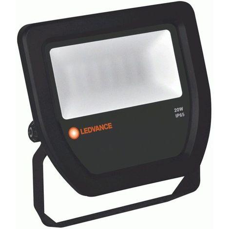 Proyector Floodlight led 20W 3000K negro IP65 Ledvance