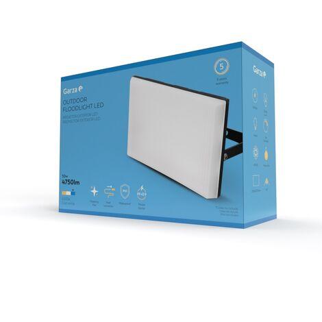 Proyector foco Design LED de exterior, 50W, 4750LM, Luz fría (6000K) Garza