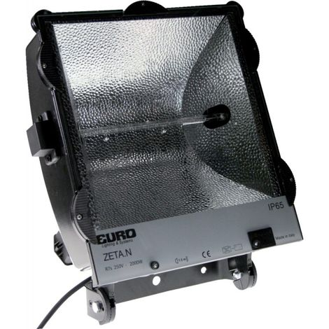 Proyector halógeno construcción profesional, 2000W IP65