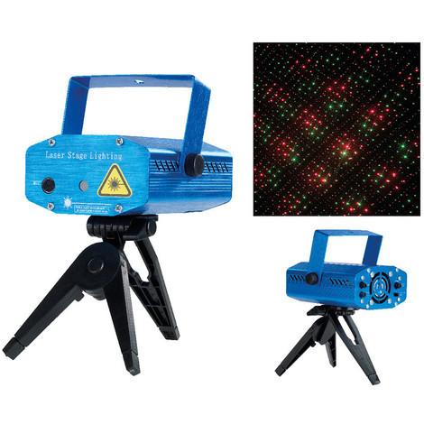 Proyector Laser Con Tripode Y Sensor De Sonido - NEOFERR