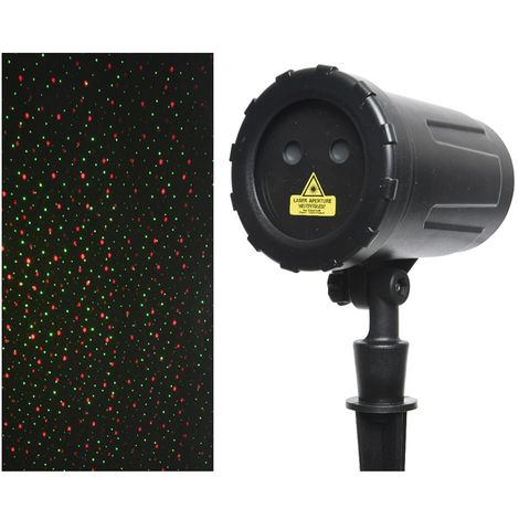 Proyector laser rotatorio 10f con programador