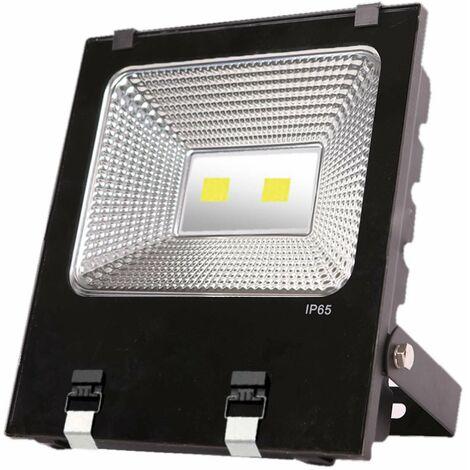 Proyector LED 100W de Exterior IP65 Cromo 4000K Eilen