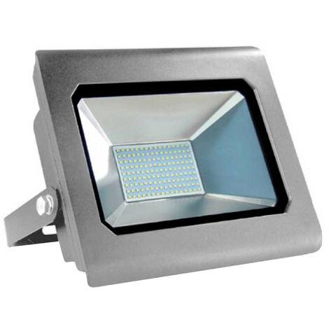 "main image of ""Proyector LED 100W Ultraslim de Exterior IP65 Orientable Aluminio 4000K 7hSevenOn"""