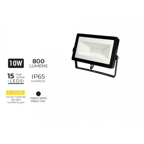 """Proyector Led 10W 4000K 800 Lumens """"Black Edition"""" Lumeco - NEOFERR"""