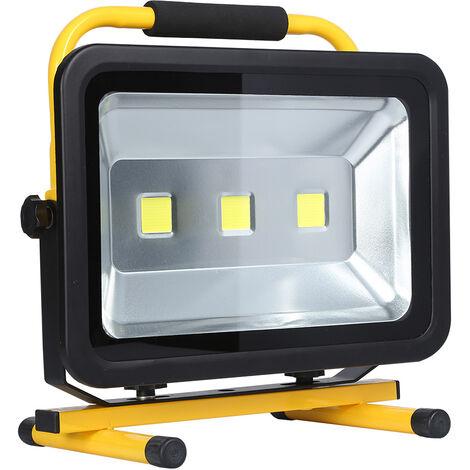 Proyector LED, 150W con batería recargable, Blanco neutro