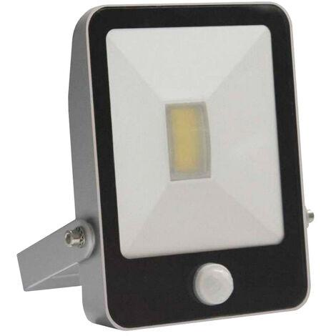 Proyector LED 20W de Exterior Orientable con Sensor de Movimiento Aluminio 4000K 7hSevenOn Outdoor