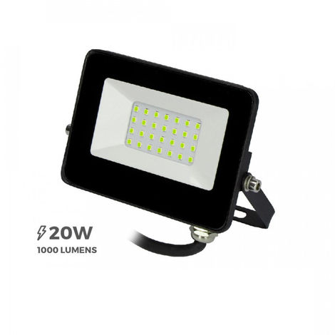 """Proyector Led 20W Luz Verde """"Black Edition"""" - NEOFERR"""