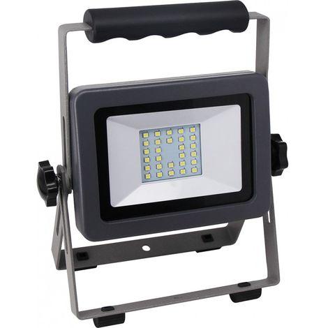 Proyector LED 20W negro-plata