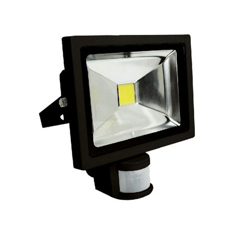 proyector led 30w c/detector
