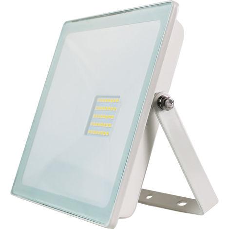 Proyector LED 30W Ultraslim de Exterior IP65 Orientable Blanco 4000K 7hSevenOn
