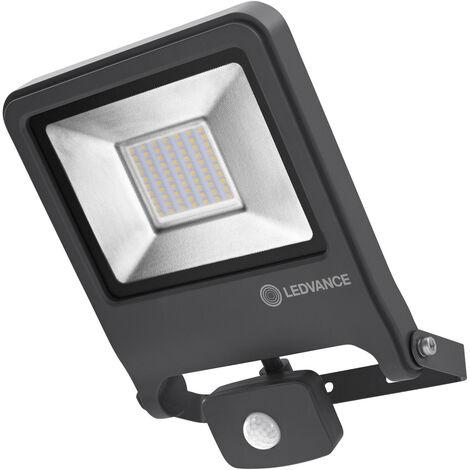 Proyector LED 50W 2700K Luz Calida Gris Sensor LEDVANCE