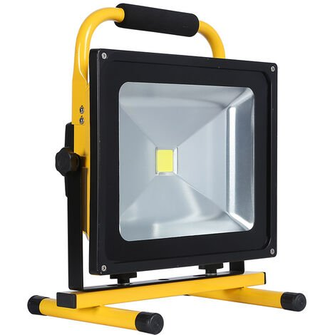 "main image of ""Proyector LED, 50W con batería recargable"""