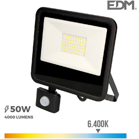 Proyector led 50w con sensor Black Edition -Disponible en varias versiones