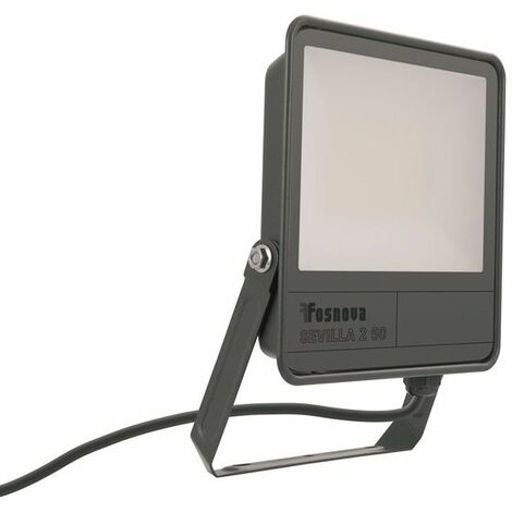 Proyector LED 50W IP66 grafito 4000K 5500lm Sevilla 2 Disano