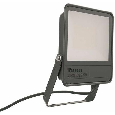 Proyector LED 50W IP66 grafito 6500K 5500lm Sevilla 2 Disano