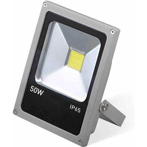 Proyector LED 50W Ultraslim de Exterior Orientable