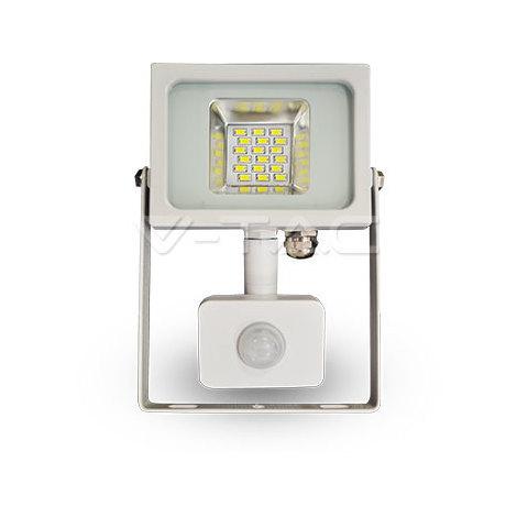 Proyector Led Blanco PIR Sensor Series IP44 20W V-TAC VT-4820-1 PIR 1600LM