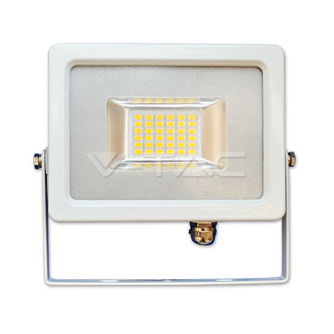 Proyector LED Blanco Premium SLIM IP65 20W V-TAC VT-4820 1600lm