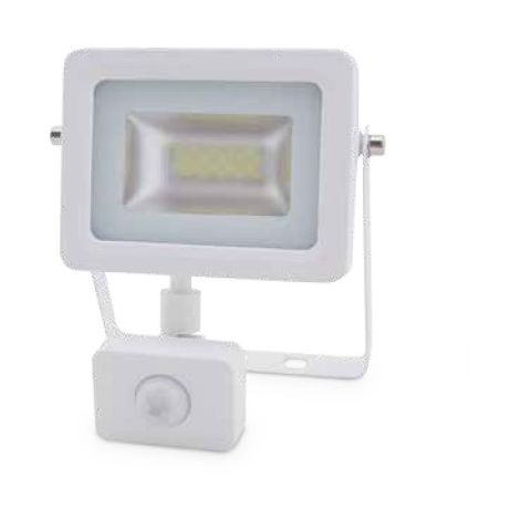 Proyector LED con sensor 10W 6000K IP65 Blanco GSC 0704742