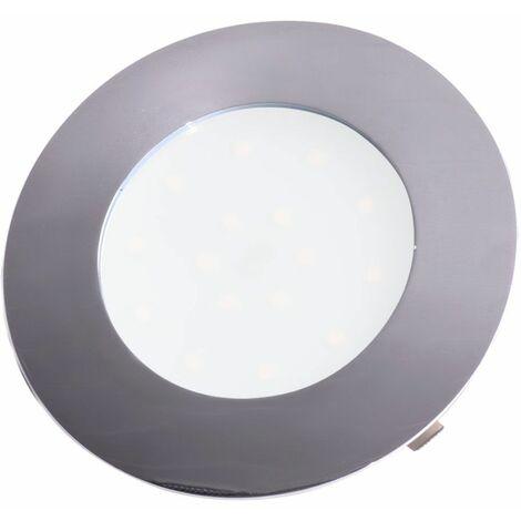 Proyector LED empotrado cromo lámpara de techo pasillo lámpara de punto sala de estar que trabaja la iluminación de la sala de trabajo Eglo 78742