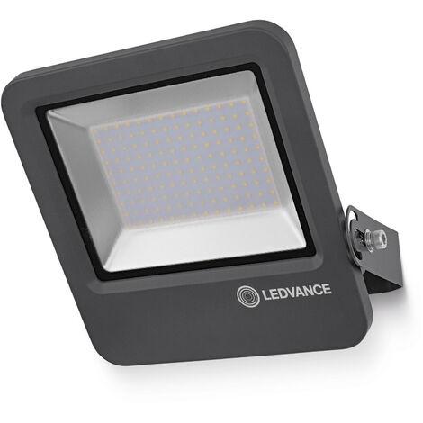 Proyector LED Exterior 100W 4000K Luz Neutra Gris LEDVANCE