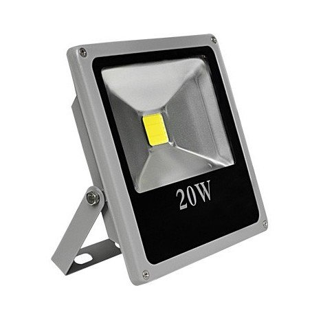 Proyector Led extraplano exterior (20W)
