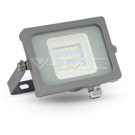Proyector Led Gris Premium SLIM IP65 10W V-TAC VT-4911 G 800LM