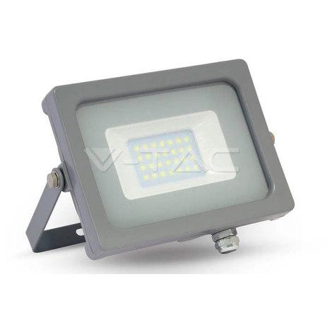 Proyector Led Gris Premium SLIM IP65 20W V-TAC VT-4922 G 1600LM