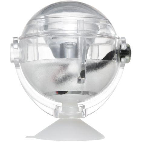 Proyector LED impermeable para acuarios, luz sumergible, con ventosa, azul