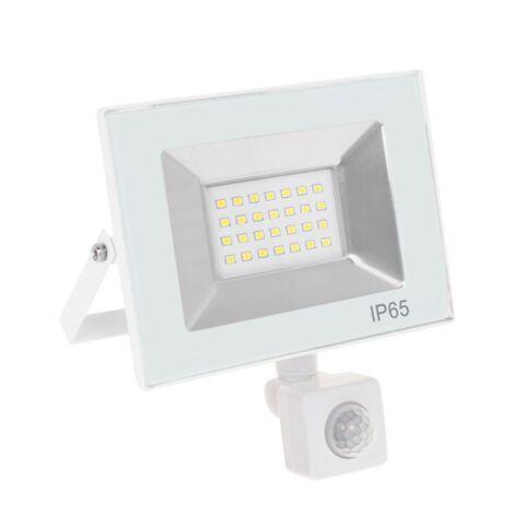 Proyector led Kolyma blanco sensor 30w luz fría